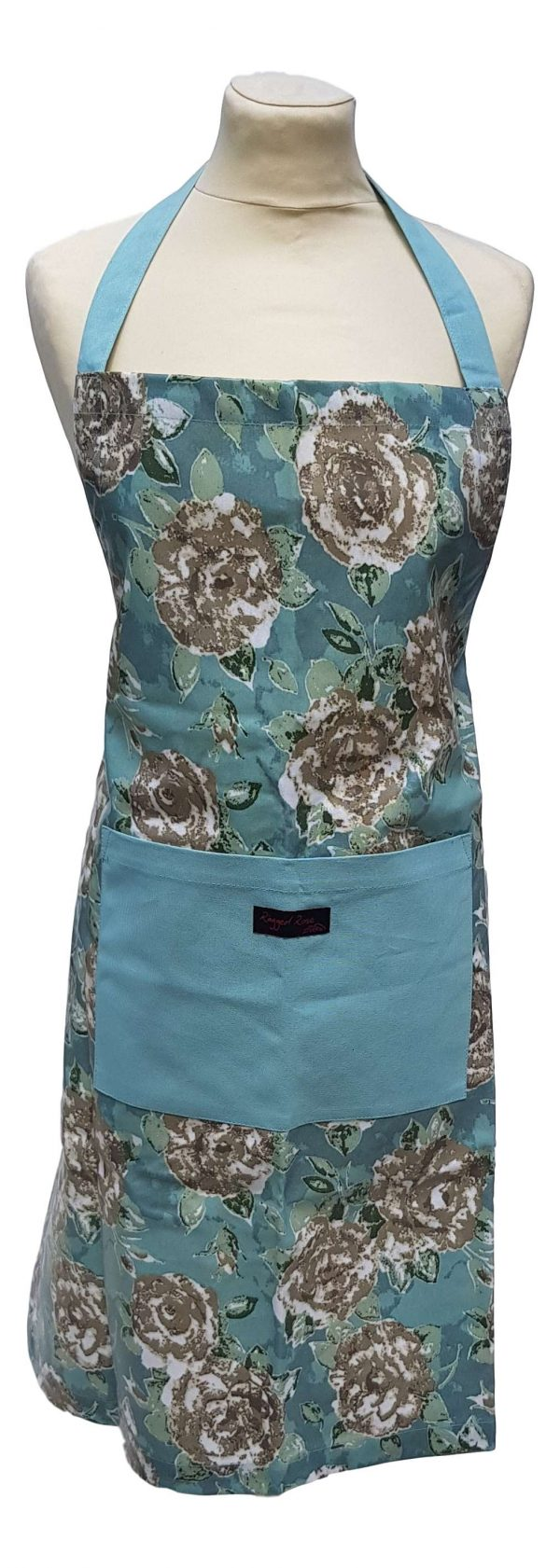 PVC Duck egg Blue Garden Apron