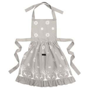 Christmas Adult Frilly Apron