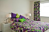purple floral duvet covers