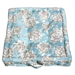 Duck egg Blue Box Garden Cushion