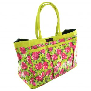 PVC Garden Trug Bag Lime