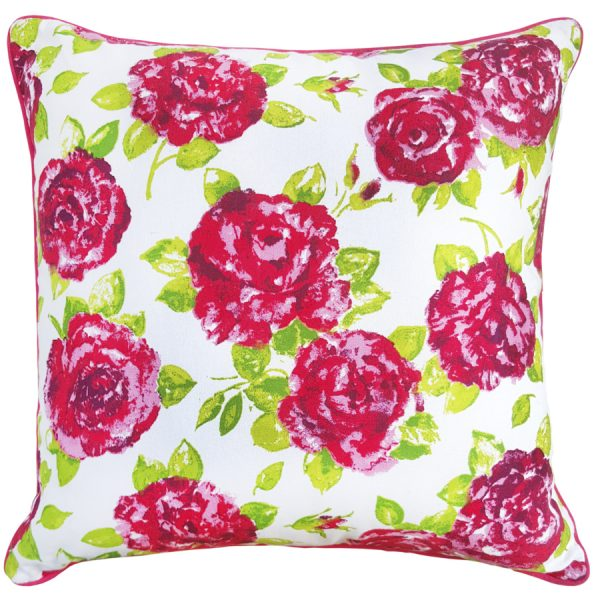 Polly Cushion White