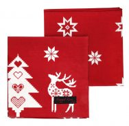 Red Christmas Napkins