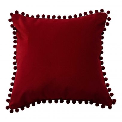 wine Velvet Cushion