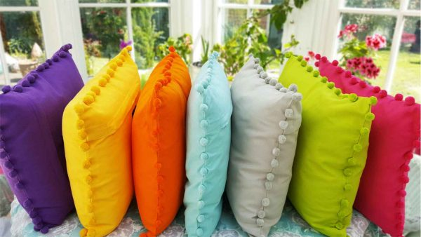 Bobby different colour cushions