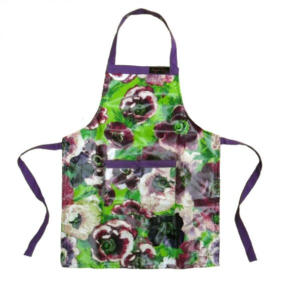 Purple Kids PVC Apron
