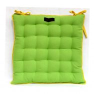 lime garden seat pad