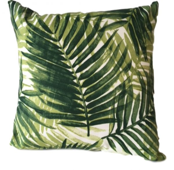 Showerproof Fern Garden Cushion