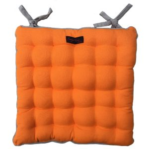 Paddy Plain Orange Garden Seat Pad.