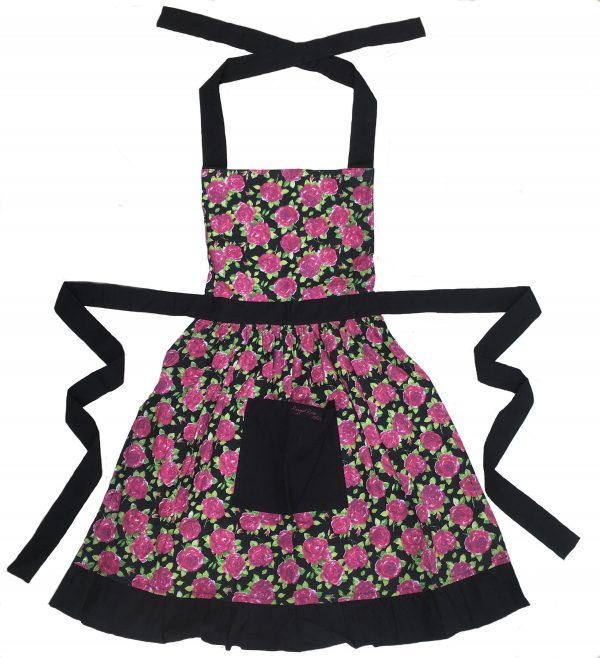 Black Frilly Apron