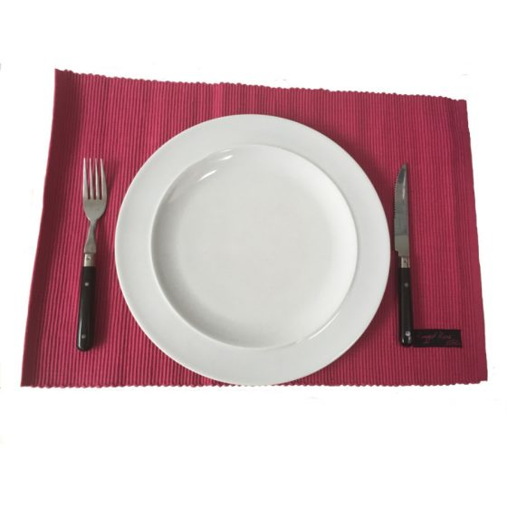 Ribby Pink Placemats
