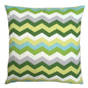 green-zig-zag-showerproof-outdoor-garden-cushion