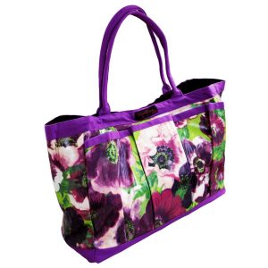 PVC Garden Trug Bag Purple