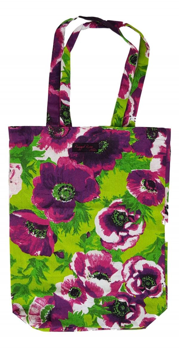 Purple Shopper Bag