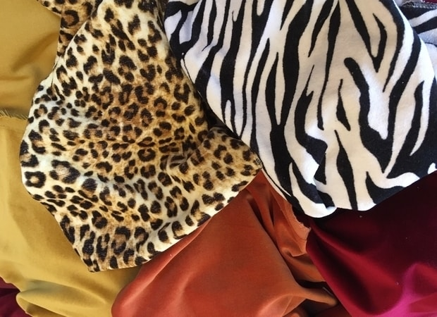 New spring velvet animal prints