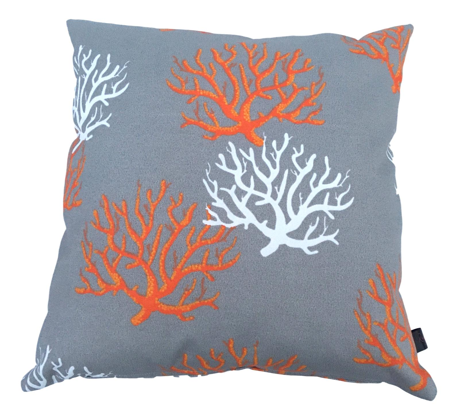 grey garden cushion