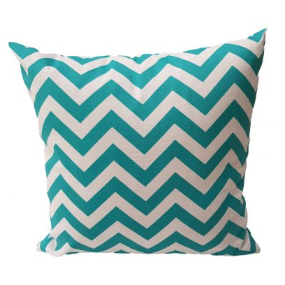 turquoise outdoor cushion