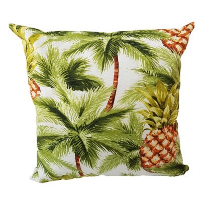 palms showerproof garden cushion
