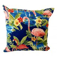 Navy showerproof outdoor cushion