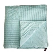 duck egg blue quilt bedspread