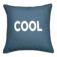 COOL Grey Showerproof Cushion
