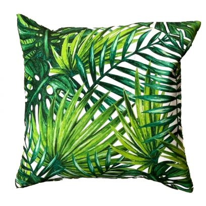 botanicals showerproof garden cushion