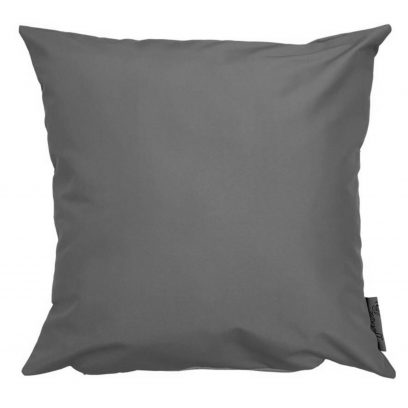 grey showerproof outdoor cushion