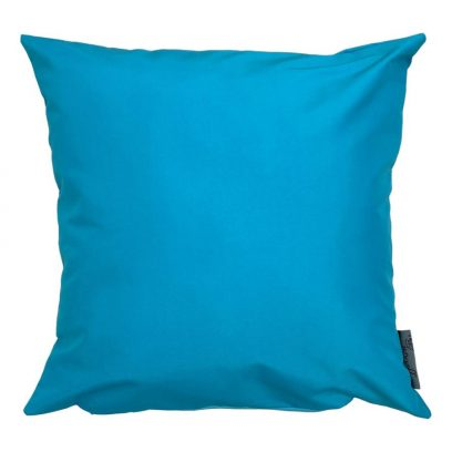 turquoise showerproof outdoor cushion